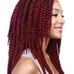 AF-S2-613971 Wigs African American Hair Extension Women's Medium Heat-resistant Fiber Wig Extension