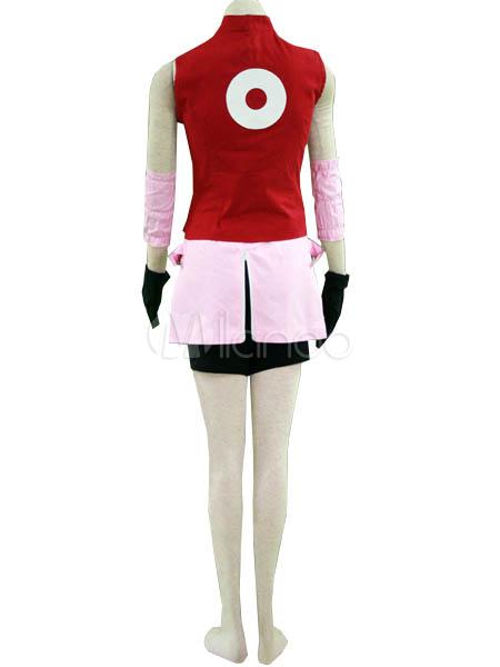 Naruto Shippuden Haruno Sakura Cosplay Costume Halloween  Milanoocom
