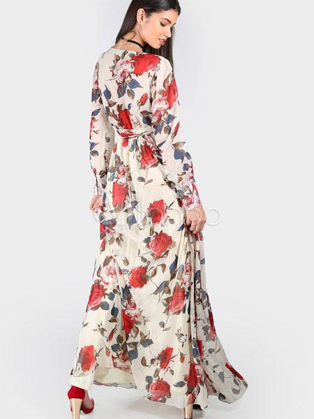 Kleid chiffon blumen  Beliebte kurze kleider