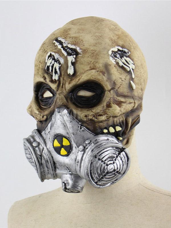 Halloween Gas Mask Resident Evil Skull Zombie Masks Full Head Skeleton Horror Toxic Outbreak