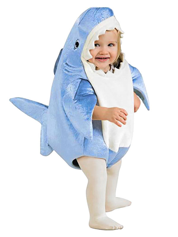 Baby Shark Holiday : shark, holiday, Shark, Costume, Carnival, Cosplay, Padded, Sponge, Toddler's, Clothes, Holiday, Milanoo.com