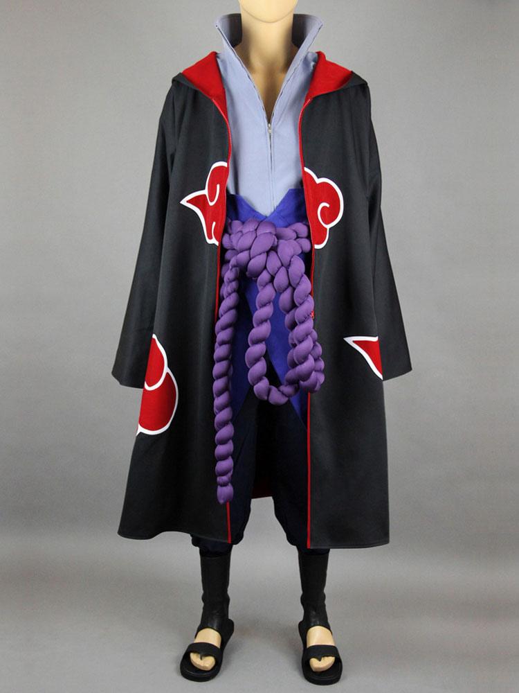 Naruto Uchiha Sasuke Akatsuki Halloween Cosplay Costume