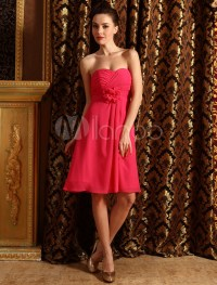 Best Watermelon Pink Bridesmaid Dresses - Buy Watermelon ...