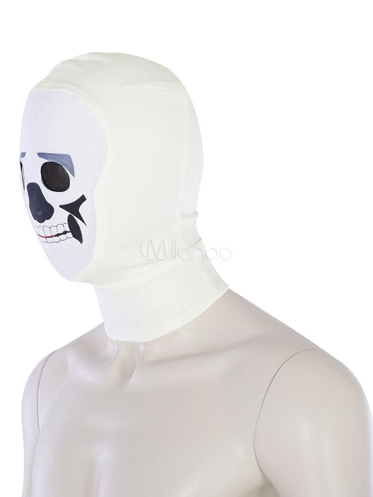 Skull Trooper Fortnite Halloween Cosplay Costume  Milanoocom