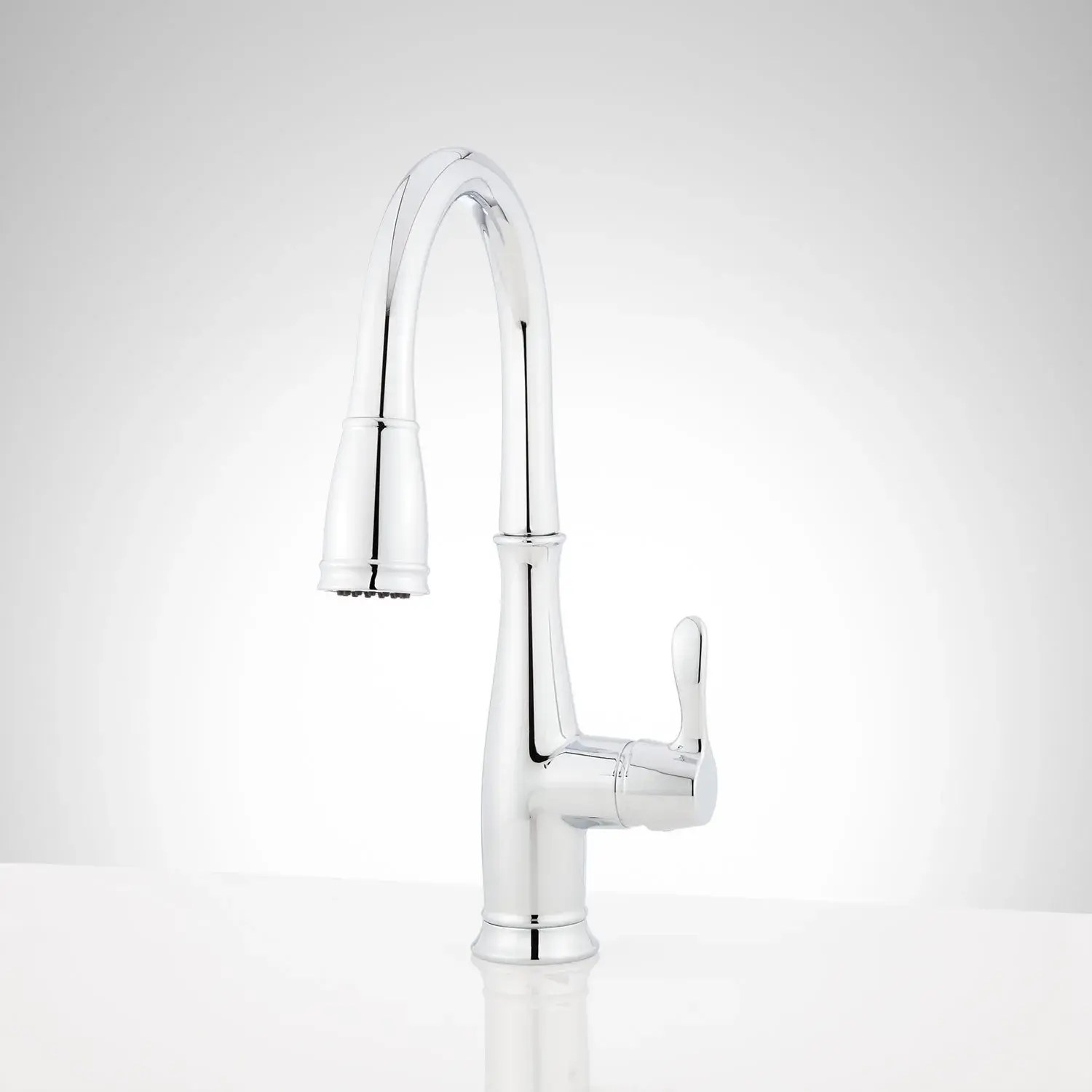 cordelia single hole pull down kitchen faucet