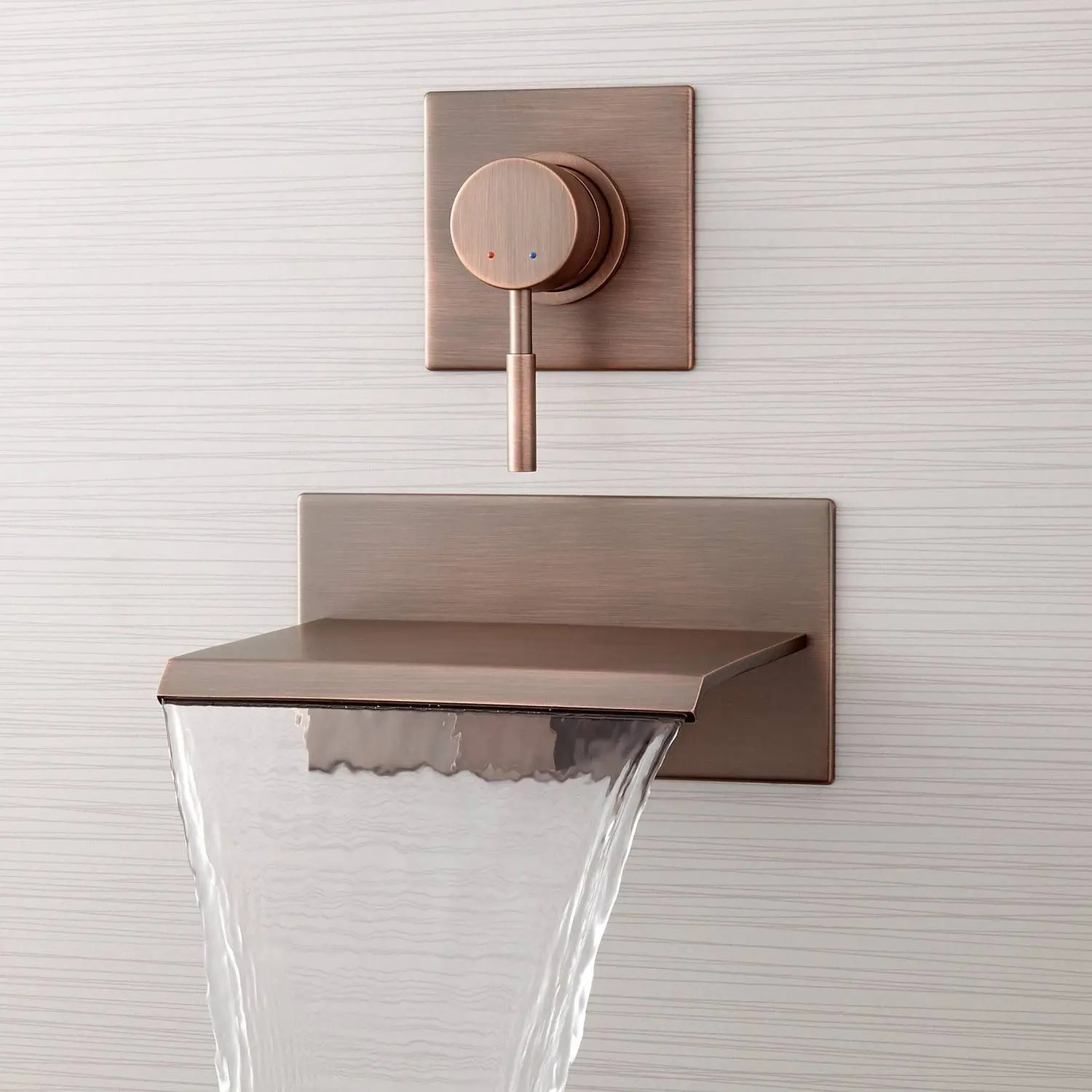 lavelle wall mount waterfall tub faucet