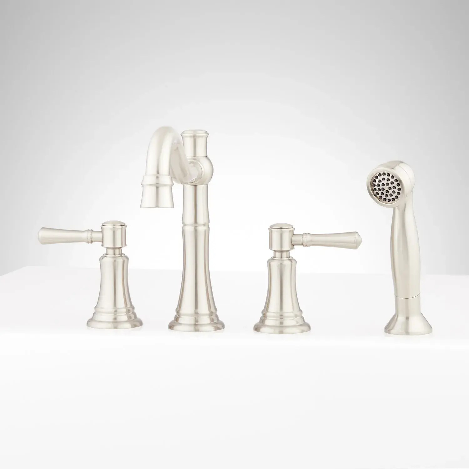 st martin 4 hole roman tub faucet and hand shower