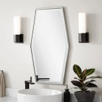 Tenaya Hexagonal Decorative Vanity Mirror Bathroom