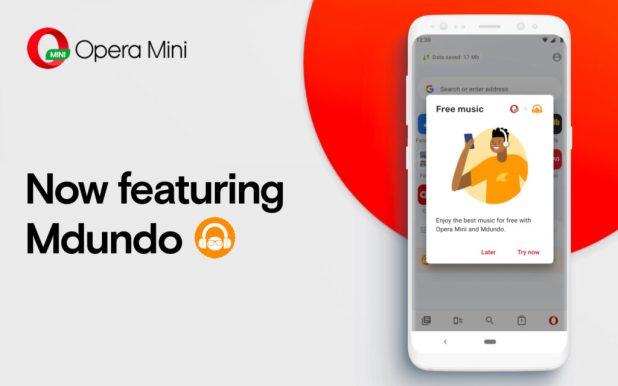 Image result for Opera Mini, Mdundo Partner to Provide Free Downloadable Music""