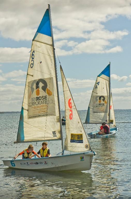 Pacer Sailing at Flinders