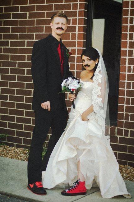Converse  Nikes  Weddingbee Photo Gallery