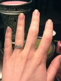 Show Your Promise Ring Off! - Weddingbee