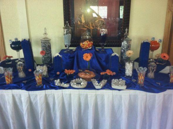 My Purple and Green Candy Buffet  Weddingbee Photo Gallery