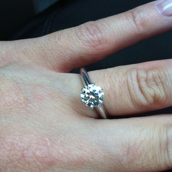 Who Has Just A Plain Ol' Regular Engagement Ring?