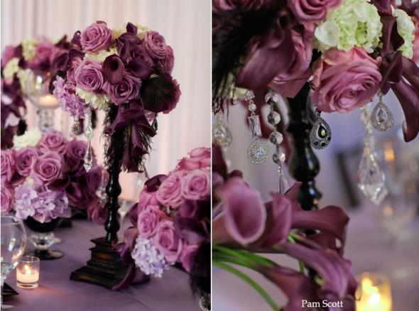 Eggplant/Champagne/Blush/Crystal…Romantic & Fun Spring