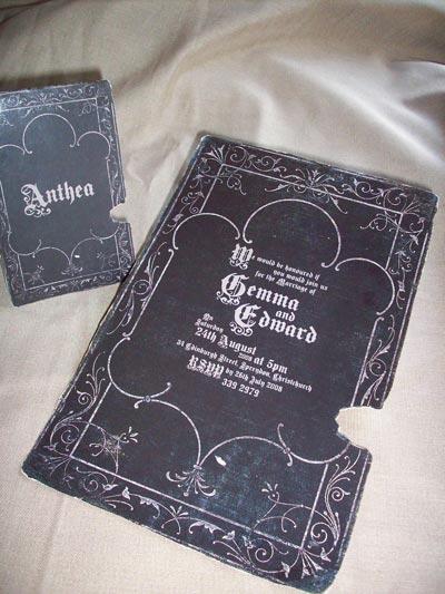 VictorianGothicHalloween Wedding Ideas