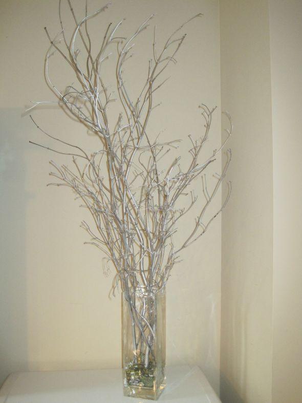Winter Wedding Silver Branches Weddingbee Photo Gallery