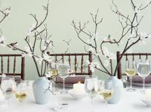 Finding Branches for Centerpieces | Weddingbee Photo Gallery