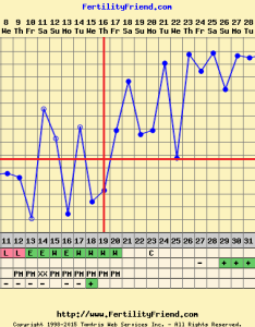 Yep  did dip at dpo faint squinter dpo bfp dpo as you can see that pregnancy ended almost weeks also charters have an implantation rh boardsdingbee