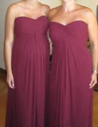 Bill Levkoff  Latte OR Sangria?? BM Dress Color ...