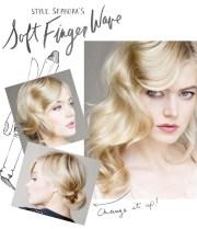 finger waves 1920s-1930s hair style