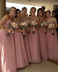 REAL pics of BRIDESMAID DRESS ALLURE STYLE:1221.DUSTY ROSE???