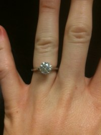 Can I wear a costume jewelry ring that clashes w ...