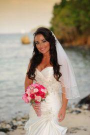 beach brides hair
