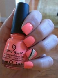 Fun summer nail color! - Weddingbee