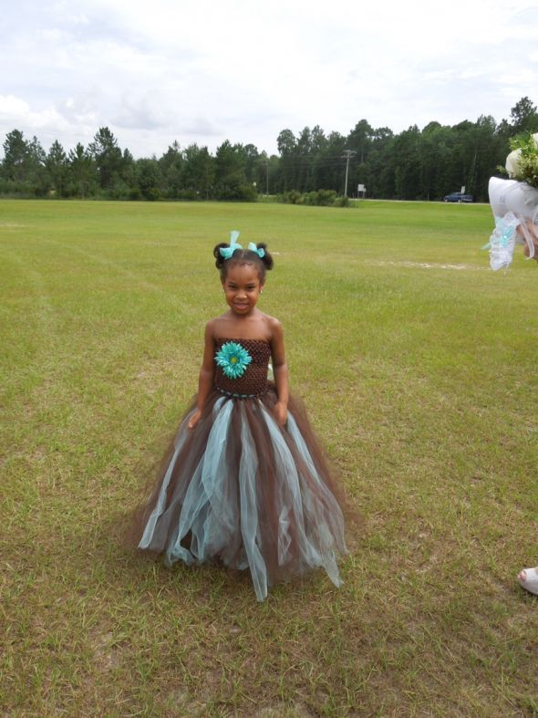My diy flower girl and ring princess dresses  Weddingbee