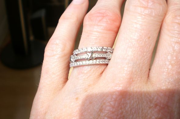 Any Ladies Here Wear A Wedding Band Stack And No