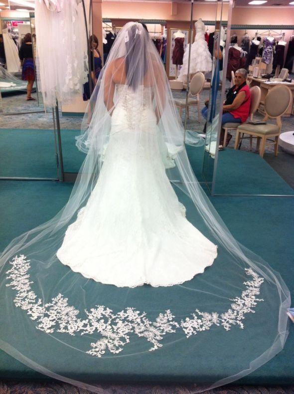 Vera Wang Veil Weddingbee Photo Gallery