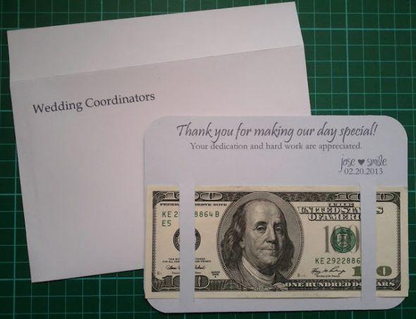 Tip CardEnvelope Weddingbee Photo Gallery