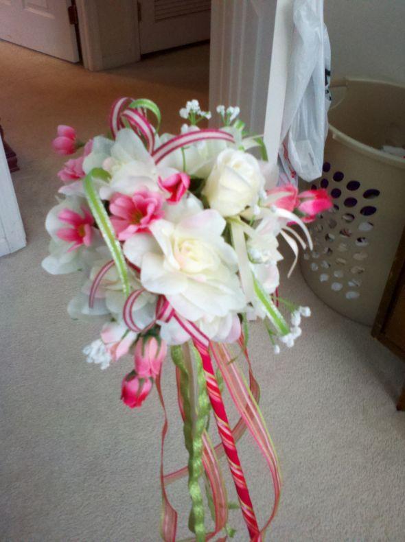 Flower Girl Wand  Weddingbee Photo Gallery