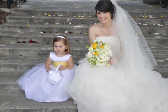 For Brides that wore Ivory Did it clash with White