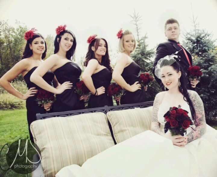 Any Bees Do A Rockabilly/50s Inspired Wedding? Send Me