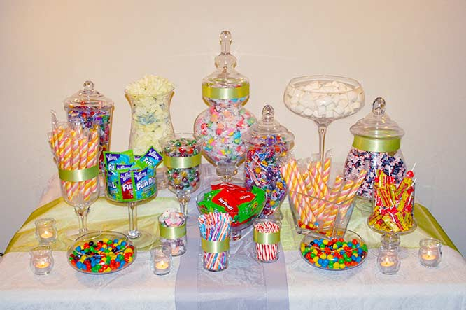 Jars Candy Station Candy