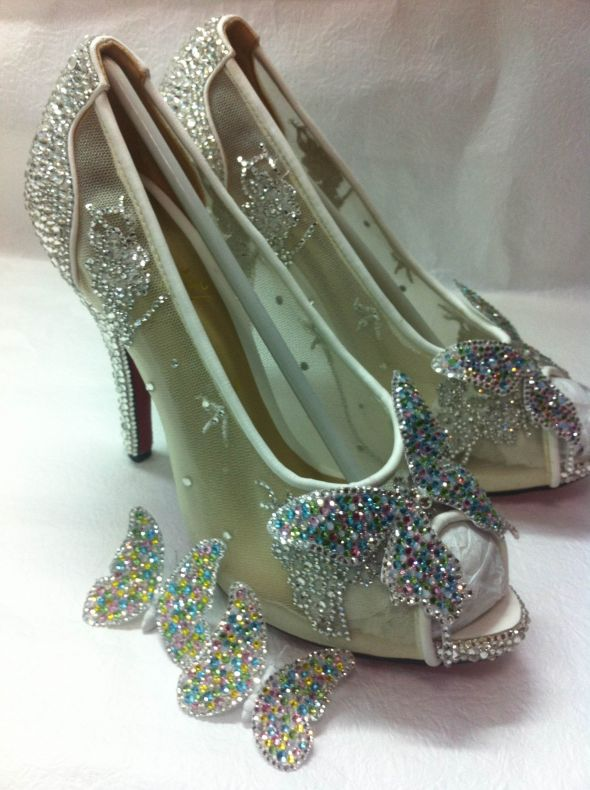 My Version of christian louboutins Cinderella slipper