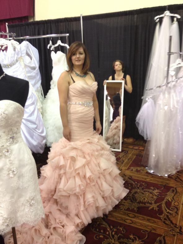 My wedding gown Maggie Sottero Divina   Weddingbee Photo Gallery