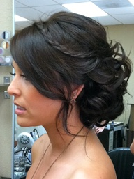 Can I see some wedding hair up-dos?