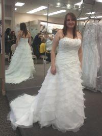 My wedding dress!! for my london bridge april wedding! Help!!!