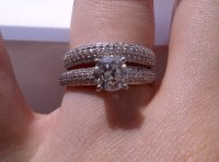 Engagement Ring & Wedding Band. Which way to wear it ...