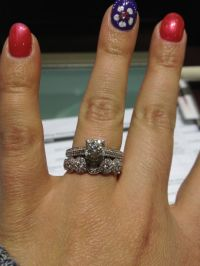 Can't choose a wedding band to go with my engagement ring ...