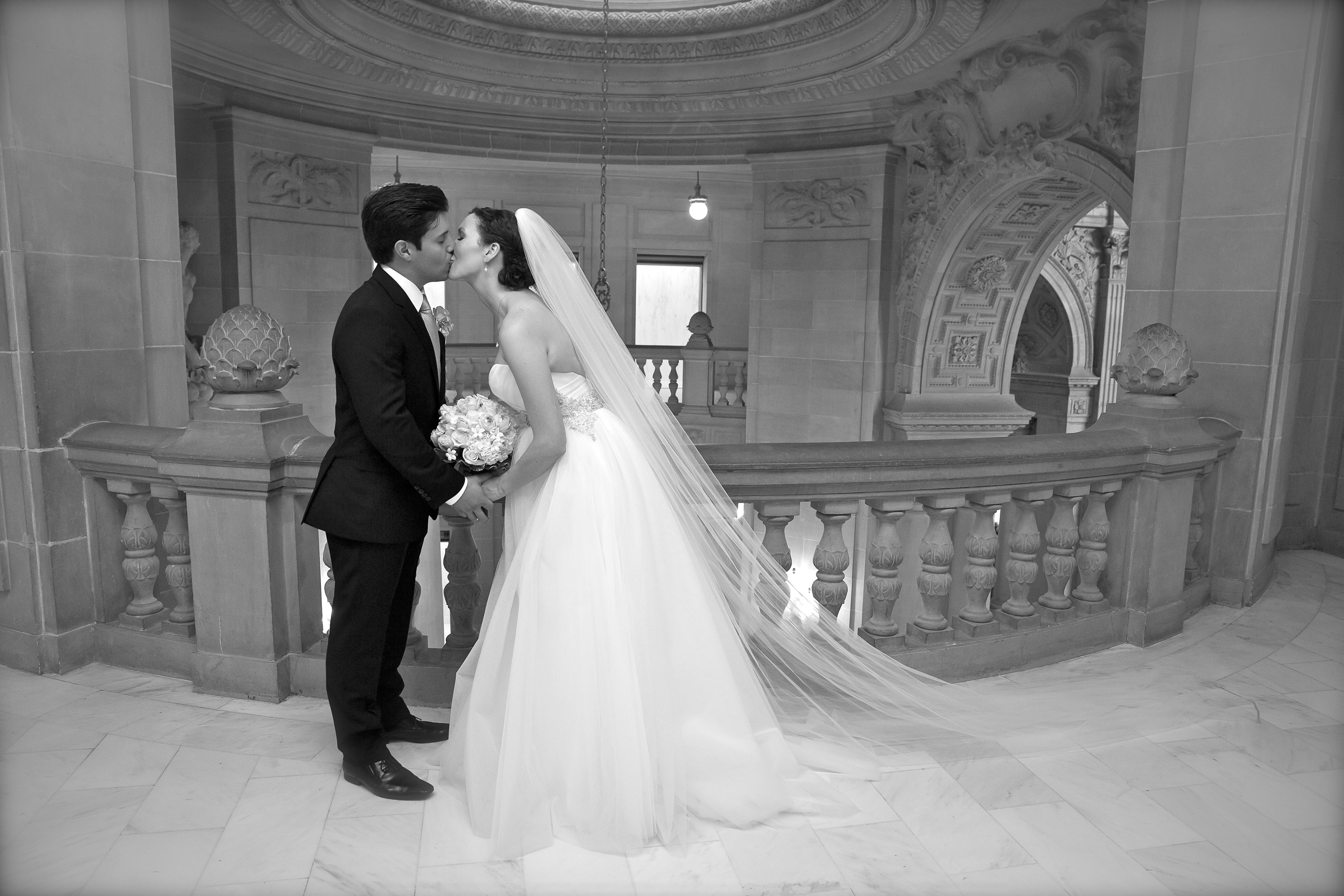 Show Me Your Veil To Match A HUGE Tulle Ball Gown