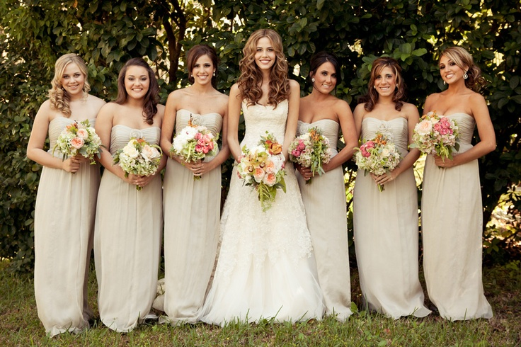 Which bridesmaid dresses color you can choose  mineal  Lilyfi