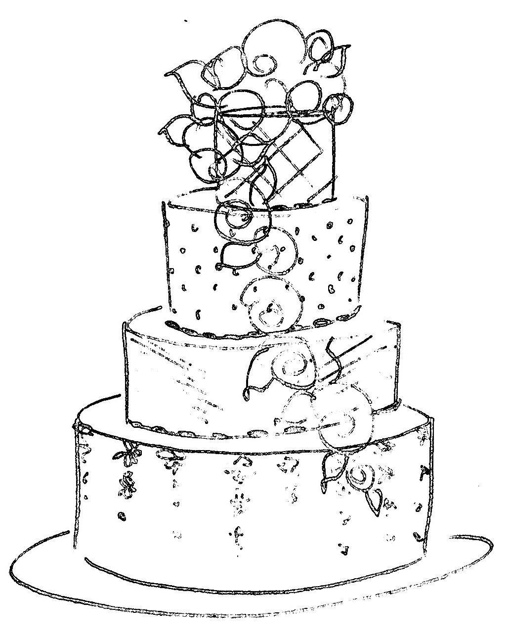 Post your wedding cakes! fun fun!