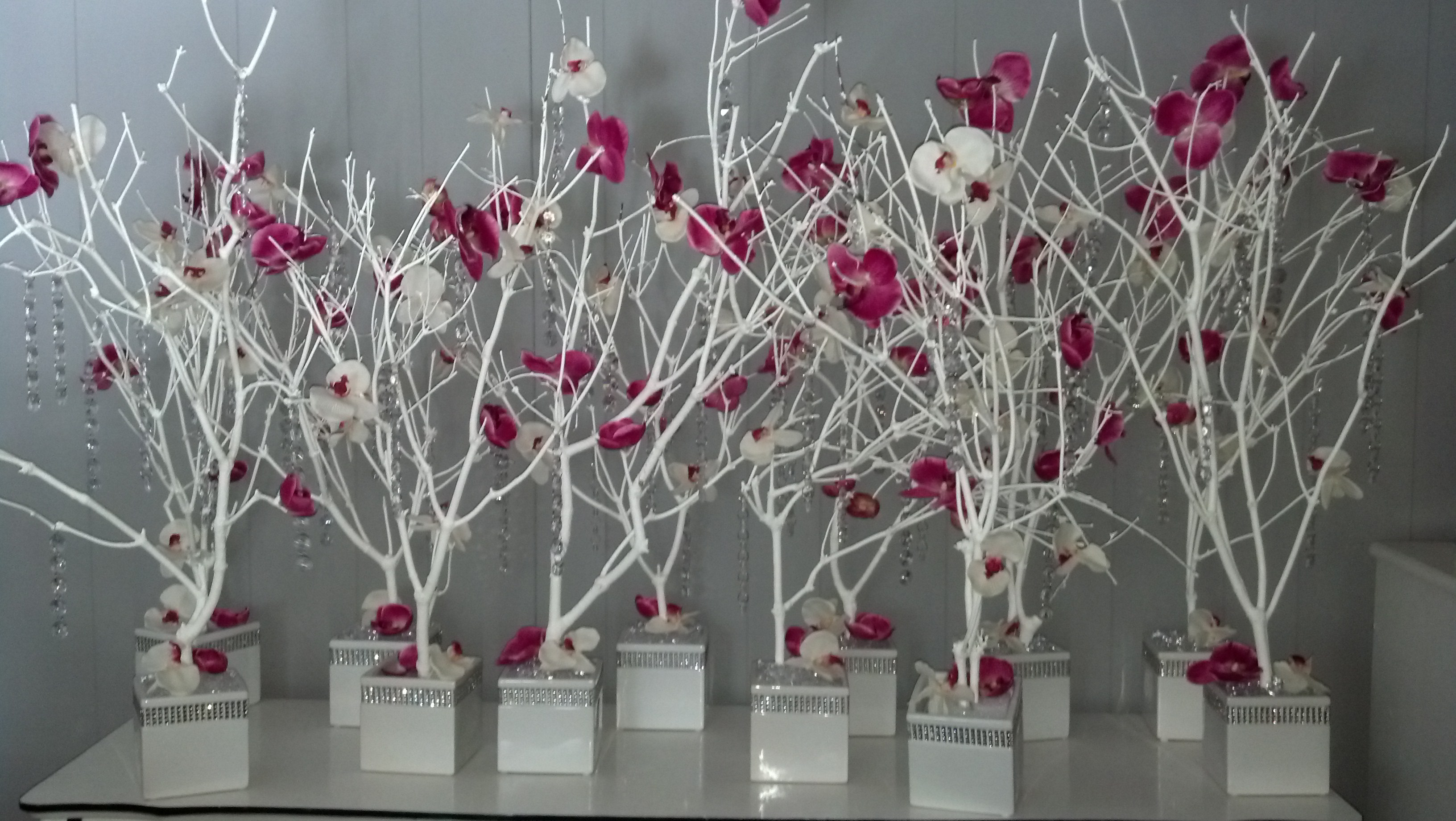 DIY Tree Centerpiece Tutorial Weddingbee Photo Gallery