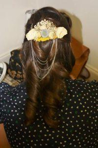 DIY bridal & bridesmaid hair pieces, bouquets, and ...