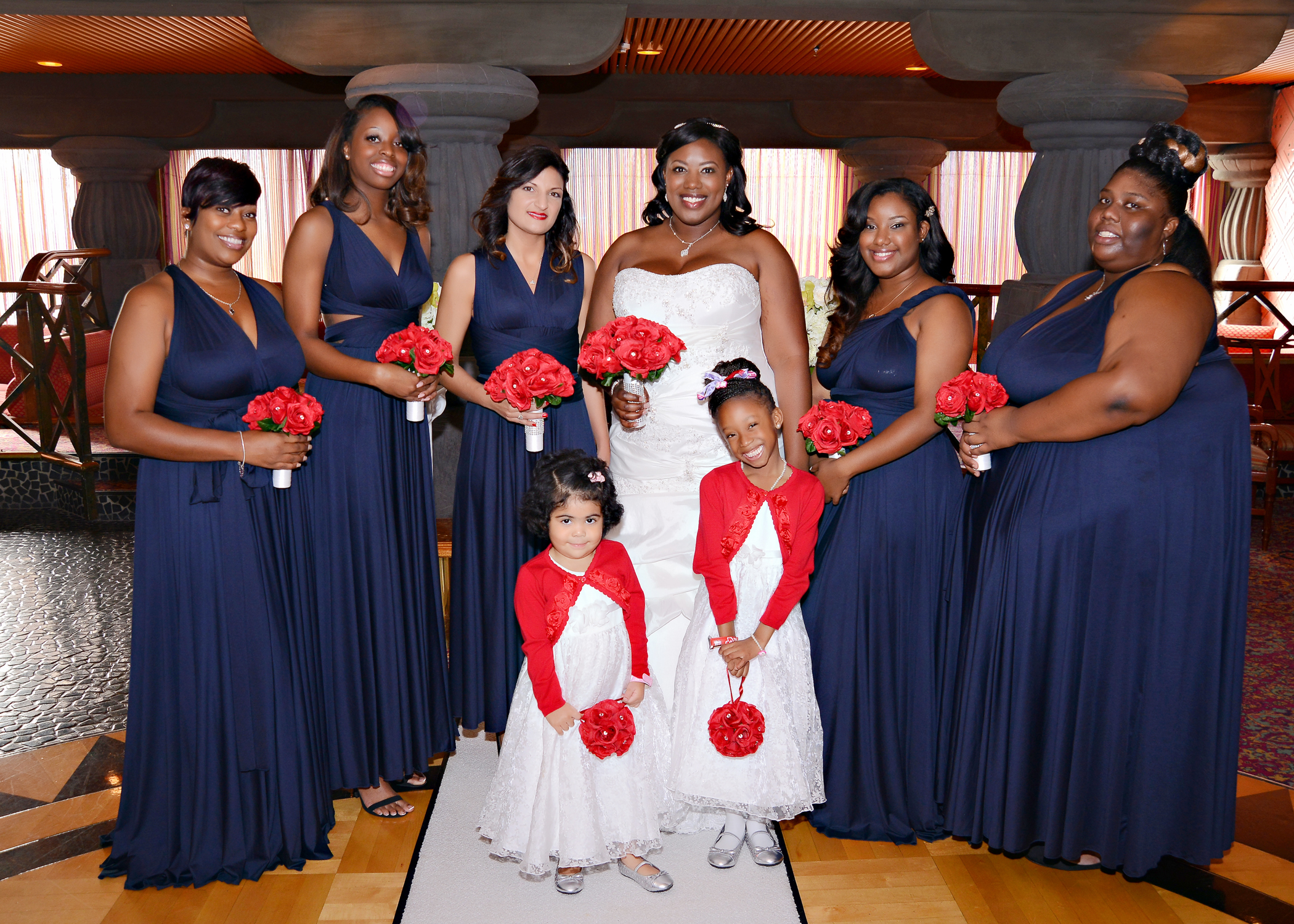 My Carnival Fascination embarkation day wedding Im Married pics included