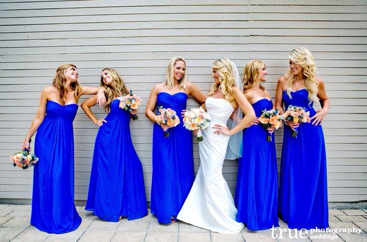 Cobalt blue or dark teal BM dresses  Weddingbee